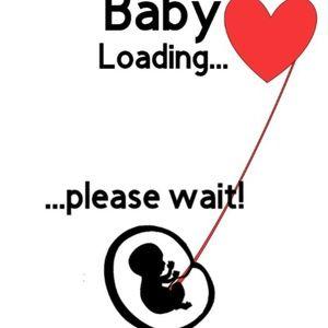 "Beautiful Heart Warming ""Baby Loading"" TShirt."